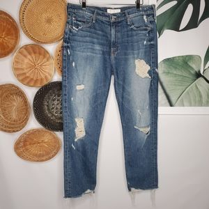 Mother The Sinner Jeans Trashed Distressed